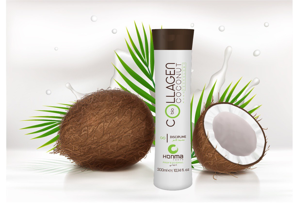 Коллаген для волос Coconut Collagen