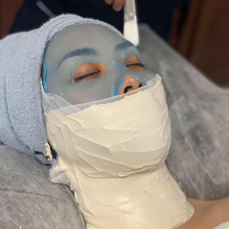 Gipsova lifting maska