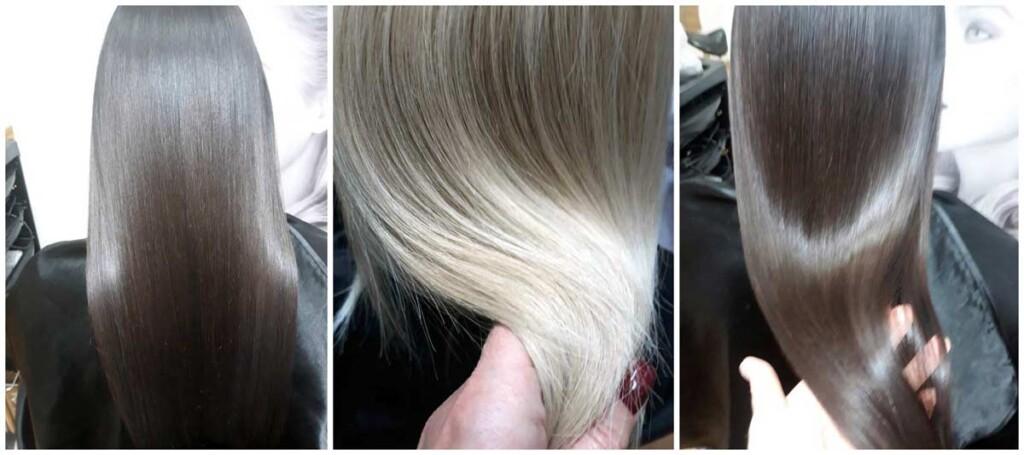 Фотоо нанопластики волос