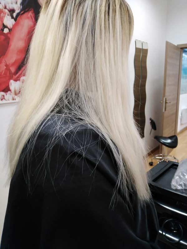 Наращивание волос: после процедуры