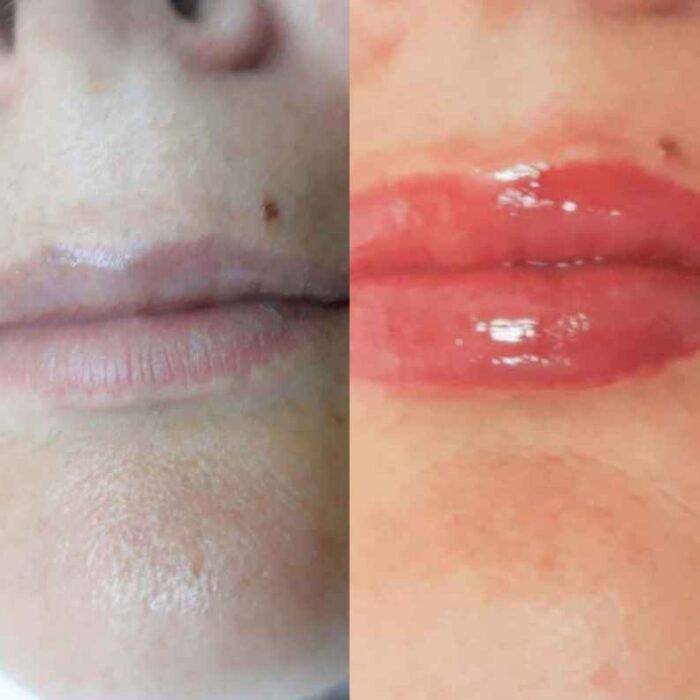 фото татуированных губ
