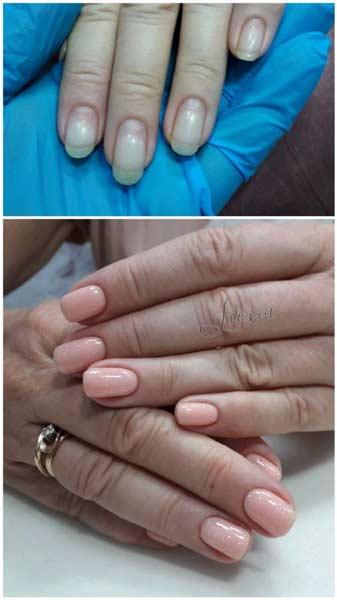 Manikir prije i posle
