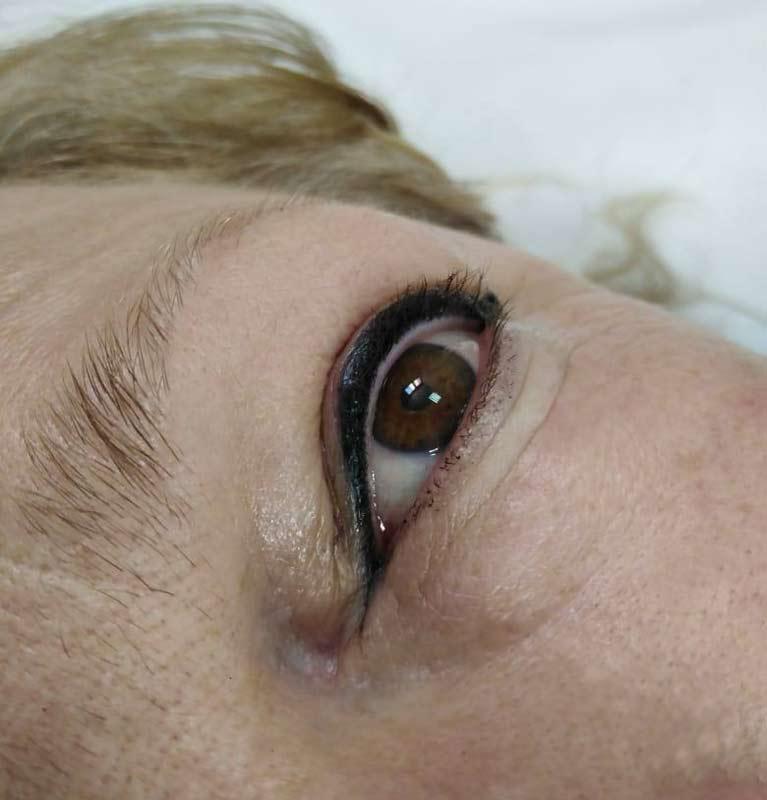 Trajna šminka gorneg kapka