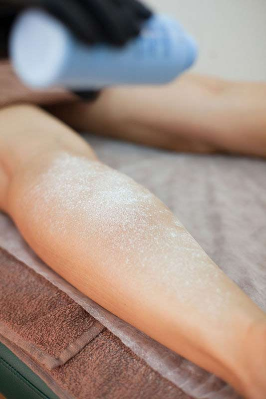Sugaring hair removal